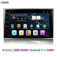 Lenvio RAM 2GB+32GB Octa Core Android 7.1 CAR DVD Player For KIA Sportage 2004 2009 sorento 2002 2009 carens carnival 2006 2011