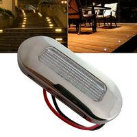 12V DC Waterproof LED Courtesy Light Cool White Garden Accent Lamp RV Caravan Boat