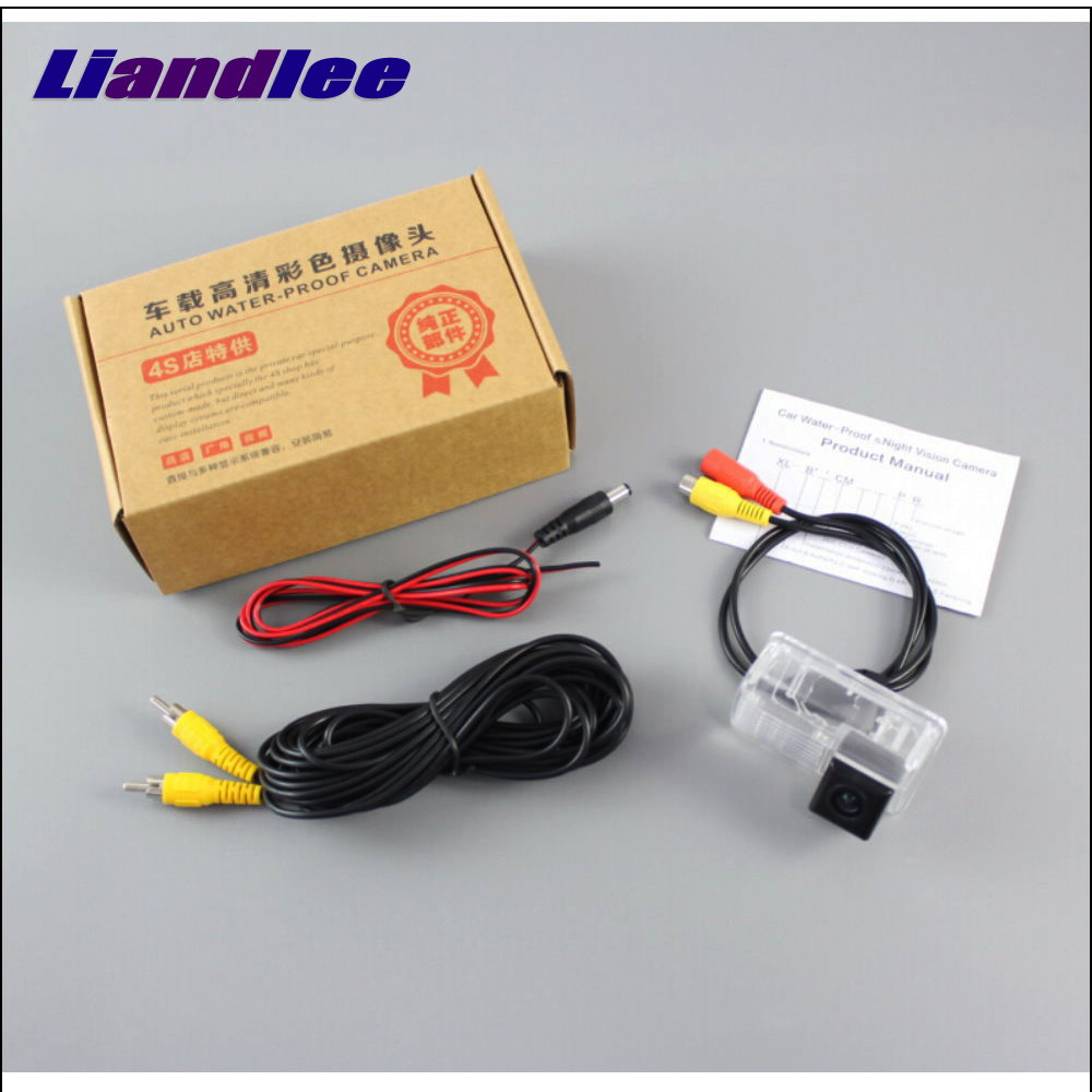 Liandlee Car Rearview Reverse Reversing Parking Camera For BYD S6 2011 2013 Rear View Backup Back Camera in Vehicle Camera from Automobiles Motorcycles