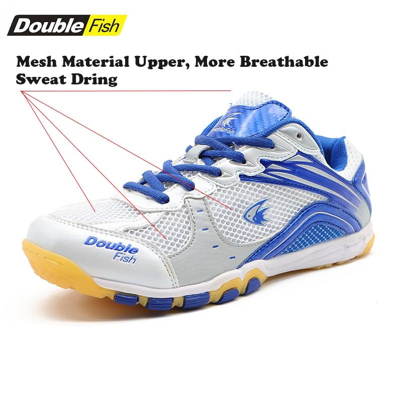 Double Poissons Amorti homme femme Non-slip Respirant tennis de table Chaussures Sports de Plein Air Formation Baskets Résistant à l'usure chaussures de sport - 2