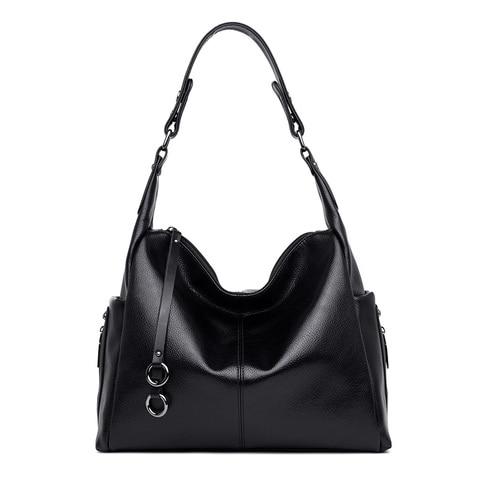 Bolsas de Couro Genuíno para Mulheres da Marca de Luxo Bags para as Bolsas de Ombro Femininas da Pele Grande Capacidade Tote Carneiro Bolsos Mujer