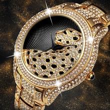 ملكة جمال الثعلب دور ساعة فاخرة الرجال الماس الذهب رجالي ساعات العلامة التجارية الفاخرة C الأسود بسيط النمر Xfcs رجال الأعمال ساعة كوارتز