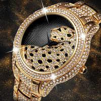 Fräulein Fox Rolle Luxus Uhr Männer Diamant Gold Herren Uhren Top Brand Luxus C Schwarz Einfache Tiger Xfcs Business Männer der Quarzuhr