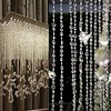 30 M Diamond Strand Acrylic Crystal Bead Curtain Home Party Wedding DIY Decor U7117