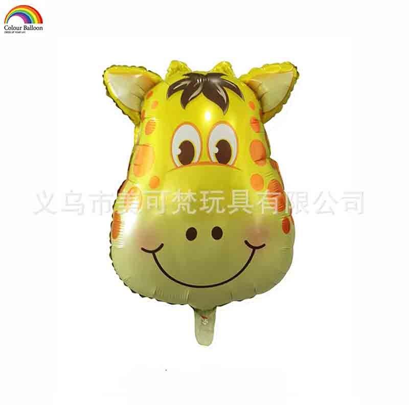 5 x diapositives ballon animal cheval Helium Ballon Ballon Horse Bleu Enfants Anniversaire