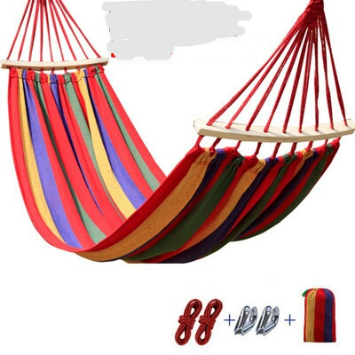 two person hammocks with stick outdoor furniture canvas hammock swing 300 150cm outdoor products 2017 aliexpress     buy two person hammocks with stick outdoor      rh   aliexpress