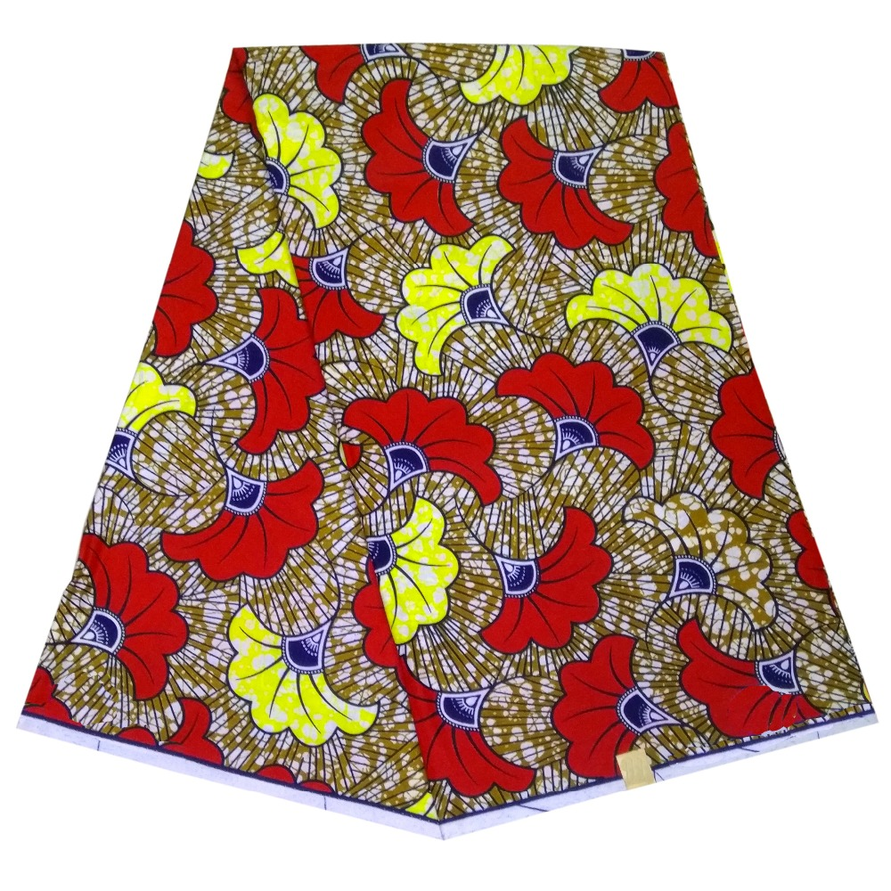 dunne en lichte kleding stof Afrikaanse waxprint groothandel wax stof - Kunsten, ambachten en naaien