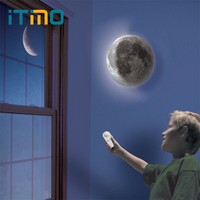 ITimo Relaxing Healing Moon Lamp Wall Lamp LED Night Light Indoor Lighting Gift For Kids Home
