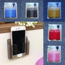 Wall Stand Mount Mobile Phone Charger Holder Solid Socket St