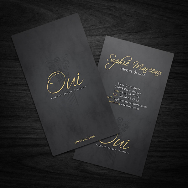 Nicest Design Black Cardboard Paper Customized Print