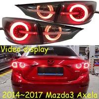 Video display show Sedan car use for mazda 3 Mazda3 axela rear light LED 2014~2017y headlight fog for axela rear lamp