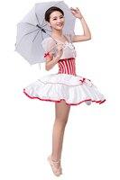 White Professional Tutu Dance Dress Costumes For Children Women Kids Danse Classique Adulte Dancewear Maillot Ballet Mujer