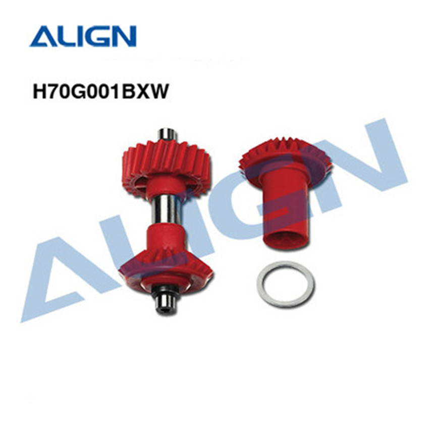 ALIGN 22T M1 tail front drive gear set H70G001BXW align 700 parts Free Shipping
