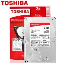 TOSHIBA 2TB Internal HDD 2000GB Desktop PC Computer NVR CCTV Hard Drive Disk 3.5″ SATA3.0 7200RPM 64M Cache HD