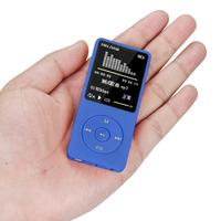 Portable Video Player 8GB 70 Hours Playback MP4 Lossless Sound Music Player FM Recorder TF Card Portable Car Tv Radio Mp4 @tw