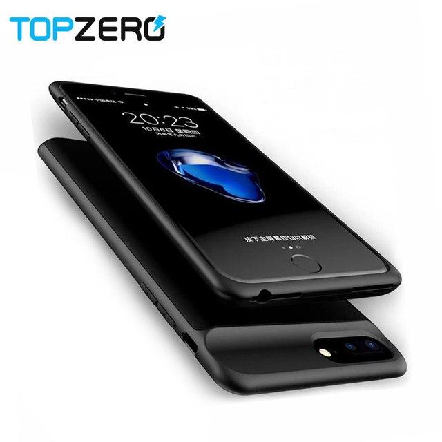 Pil iphone için kılıf 6 6 s 7 8 2500/3700/5000/7000 mah Güç Bankası Şarj iphone için kılıf 6 6 s 7 8 Artı pil şarj cihazı Durumda