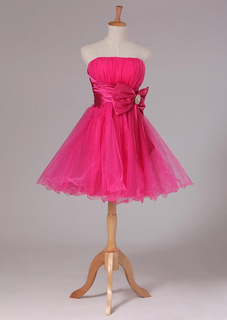 Vestidos elegantes cortos para quinceaneras