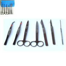 4pcs or 7 pcs /set Dissector Microscope Dissecting tool kit