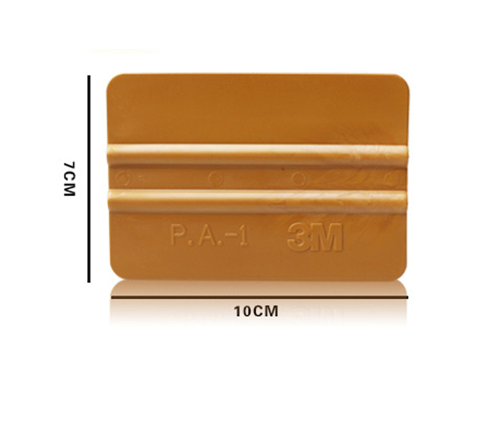 Image 3 - Gold Vinyl Wrap Squeegee Applicator Tool Scraper Decal  P.A 1Y-in Car Stickers from Automobiles & Motorcycles