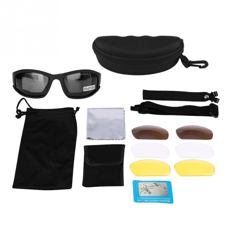 Sunglasses Tactical Polarized Army Goggles Sunglasses Men Military Sun Glasses For Mens Desert War Goggles Ciondoli Gioielli Di Lusso