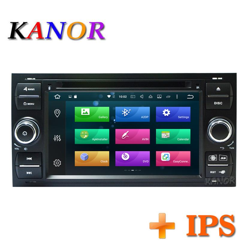 Android 8 0 Octa core RAM 4 32g 2din Car Radio Stereo For Ford Mondeo S