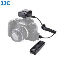 JJC Camera Màn Trập Phát Hành 433 Mhz 16 Kênh Phát Thanh Không Dây Điều Khiển Từ Xa Cho Olympus OM D E M5 II E M1 III Camera