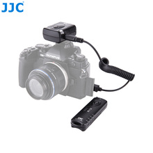 JJC Camera Shutter Release 433MHz 16 Radio Channels Wireless Remote Controller  for OLYMPUS OM D E M5 II E M1 III Camera