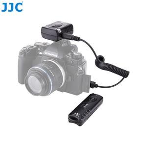 Image 1 - Jjc カメラシャッター 433MHz 16 ラジオチャンネルワイヤレスリモコンオリンパス OM D E M5 II E M1 III カメラ