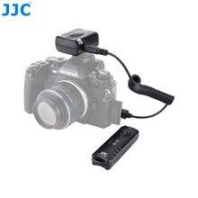 Jjc liberação do obturador da câmera 433 mhz 16 canais de rádio controle remoto sem fio para olympus OM D E M5 ii E M1 iii câmera