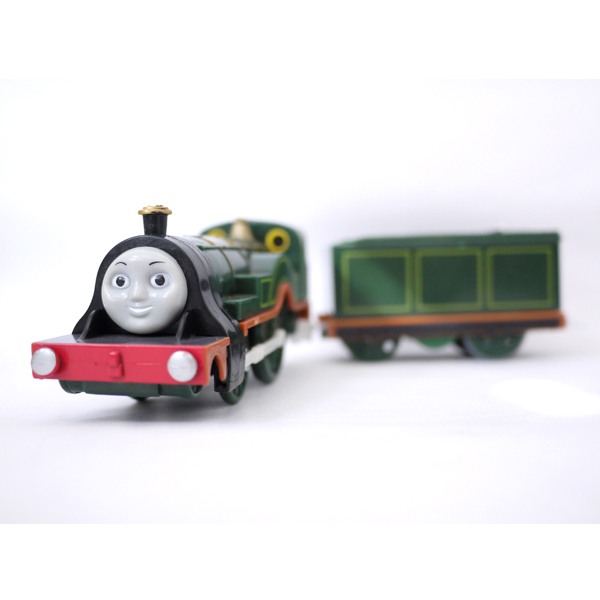 x008 Electric Thomas and friend emily with a carriage Track master engine Motorized train kids toys