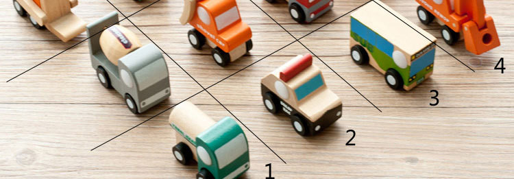 12pcslot Wooden Car Educational Toys Baby Kids Boy Toys Wheel Rotatable Cars Models Toys Simulate Mini Automobiles for Children (11)