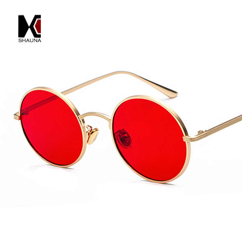 ed6969afb3d5 ... SHAUNA Super Round Women Sunglasses Brand Designer Fashion Men Dark Green  Lens Shades UV400 ...