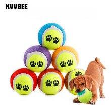 Игрушка, теннисный мяч без эластичности 63 мм дети ПЭТ жевательная игрушка бегать получить бросок мяч