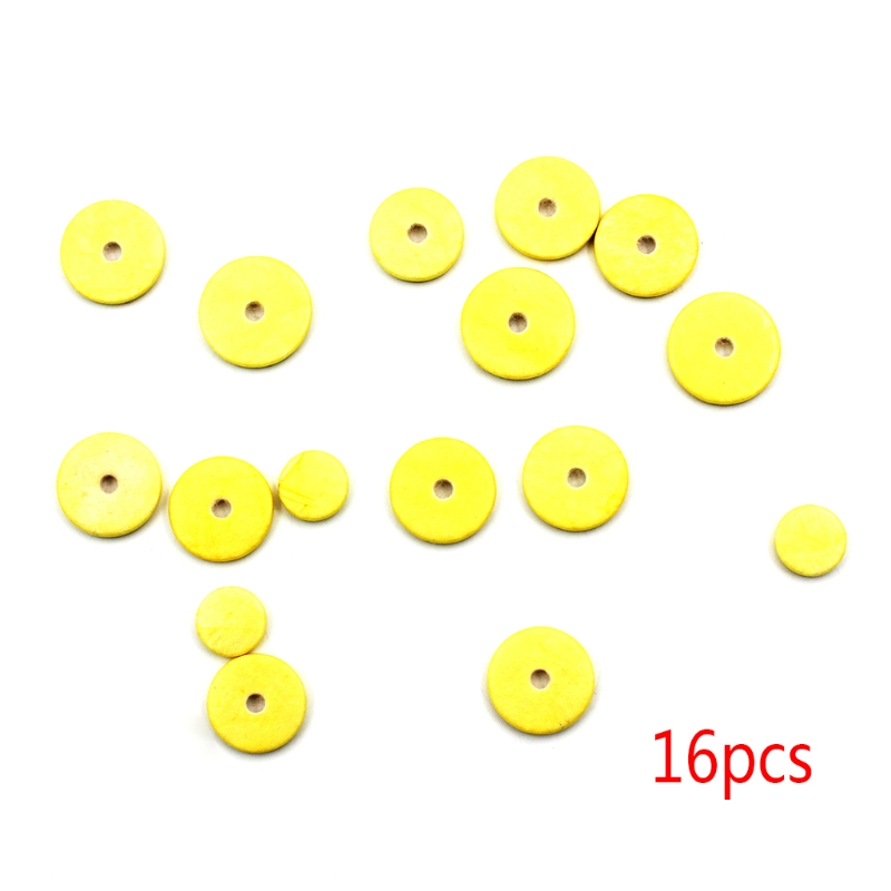16pcs Fuax Leather Pads Tone For Yamaha Flute Pads Musical Instrument Parts KI-5U87