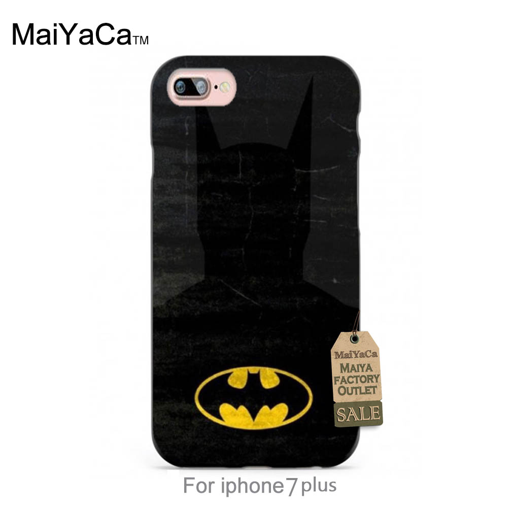 Pics photos batman logo evolution design for samsung galaxy case - Silicone Case Hero Batman Logo Design Diy Colorful Printing Drawing Phone Case For Case 6 6plus