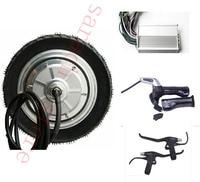 9 350W 48v wheel motor , electric scooter motor kit , electric skateboard motor kit
