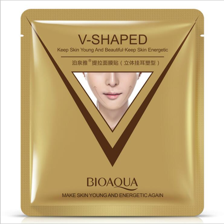 Firming 3D Facial Mask V Line Slimming Lifting Shaping Whitening Moisturizing Brighten Mask Skin Care