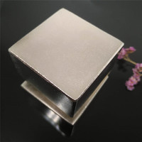 Zion 1pcs 50x50x20mm neodymium magnets powerful block N35 rare earth NdFeB super strong permanent bar magnets 50mmx50mmx20mm