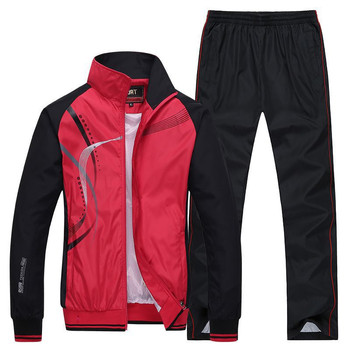 Men's Sportswear New Spring Autumn 2 Piece Sets  4
