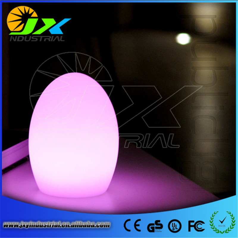 ФОТО LED Color Changing Colorful Egg Shaped Home Decor Lamp Baby Kid Night Lights