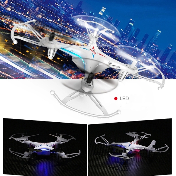 Freeshipping 2015 Syma X13 Storm 2.4G 4CH 6-Axis RC Quadcopter With 3D Flips Left Hand Throttle For Kids Gift