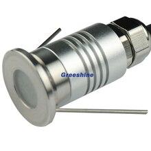 12 V 24 V IP67 открытый светодиодный утопленный свет палубе 1 W Светодиодный прожектор сад подземный СВЕТОДИОДНЫЙ торшер наземные светильники 12 шт./лот