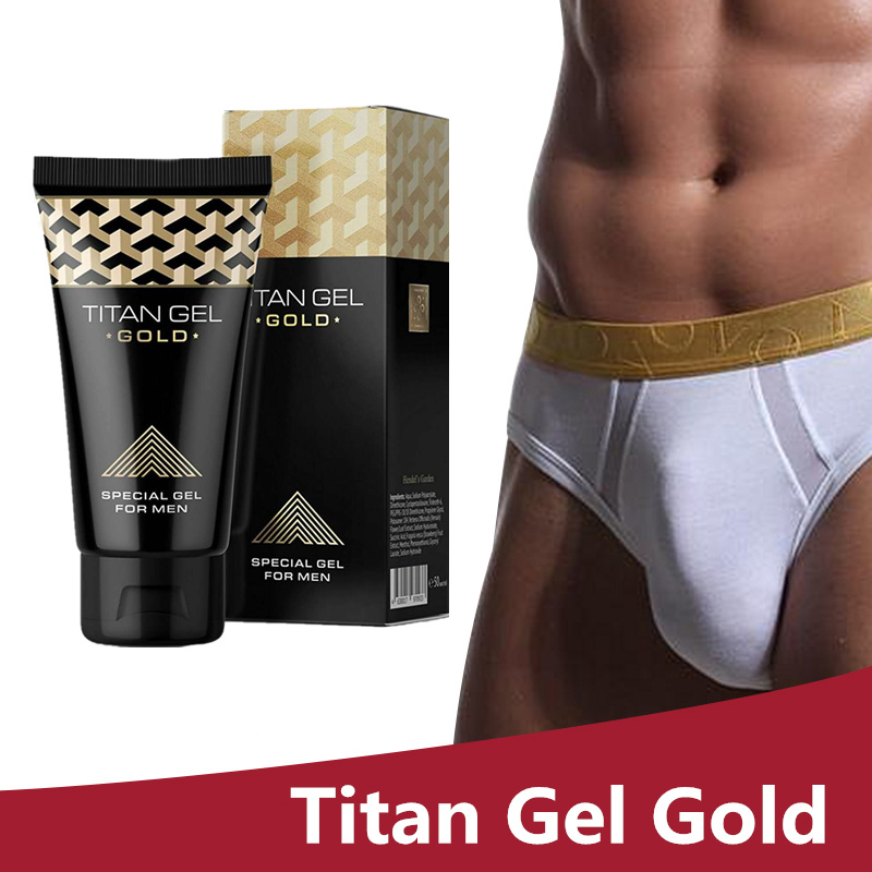3pcs New Original Titan Gel Gold Penis Enlargement Cream enlarge penis cream male enhancement sex delay cream lubricants for sex