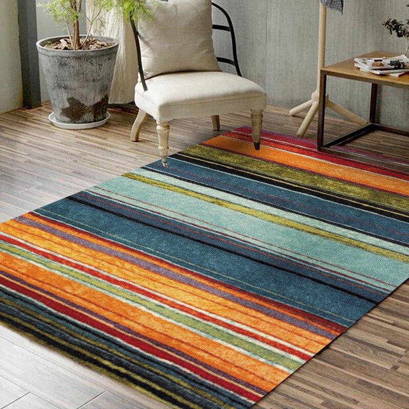 Tapis de Style turc pour salon Vintage maison chambre tapis canapé Table basse tapis salle d'étude tapis de sol bohême tapis