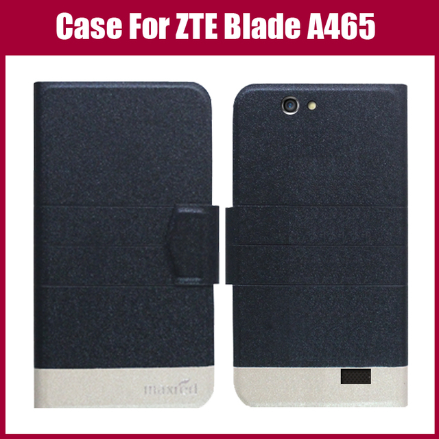 Hot! ZTE Blade A465 Case,New Arrival 5 Colors High Quality Leather Exclusive Case For ZTE Blade A465 Cover Wallet Style