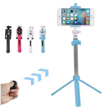 Universa Bluetooth Selfie Stick +Tripod +Shutter Wireless Remote control Selfie Stick For iPhone 5 6 6s Plus Samsung Android