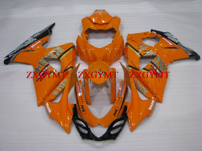 Fairing for GSXR1000 2009 - 2016 K9 Fairing Kits GSX-R1000 2010 Orange RIZLA Fairings GSXR1000 11 12Fairing for GSXR1000 2009 - 2016 K9 Fairing Kits GSX-R1000 2010 Orange RIZLA Fairings GSXR1000 11 12