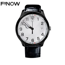 Finow Q3 Wifi Smart Watch Android 4.4 OS MTK 6572 Dual Core BT GPS 3G Sim card 1.39inch OLED Display PK KW88  Smartwatch phone