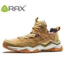 RAX Men's Waterproof Cushioning Hiking Shoes Climbing Backpacking Trekking Boots for Men Outdoor Shoes