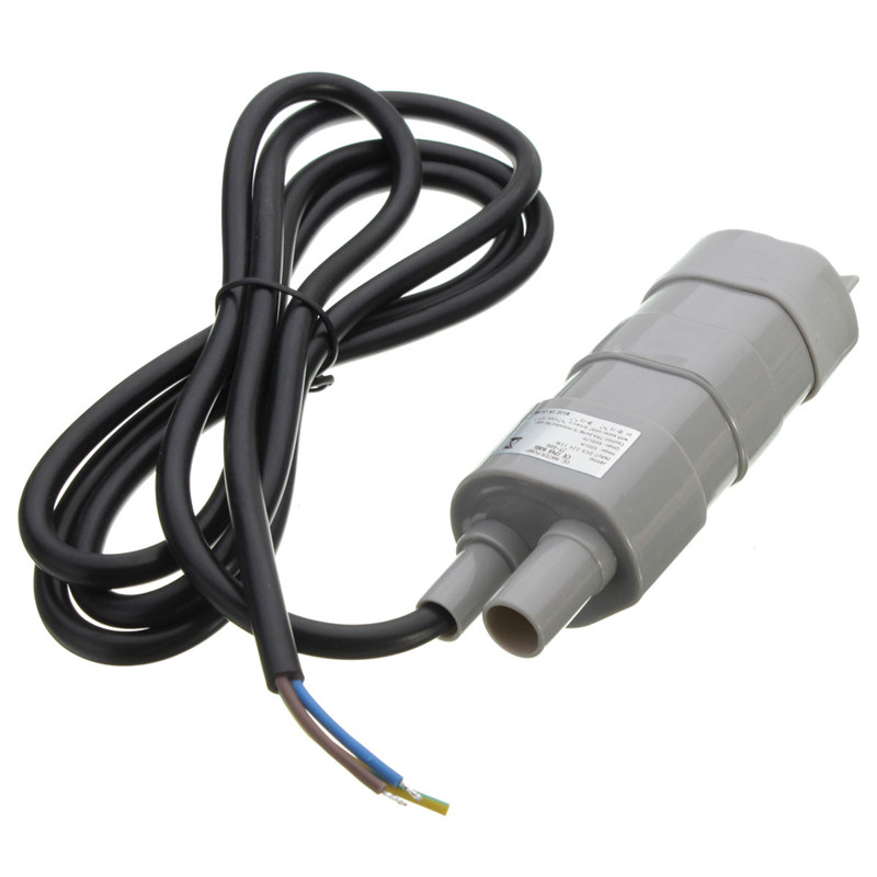 15 W 600l/H 5 M corriente nominal 1.2a12v jt-500 DC bomba sumergible lavado Bañeras 10.8x4 cm
